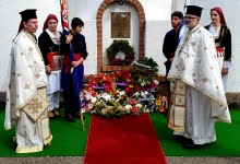 Photo of Memorial for the fallen heroes of the Battle of Crete in Brisbane.