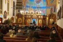 Photo of Event organised at the Holy Monastery of 'Axion Estin' Northcote for the timeless humanitarian value of volunteering.