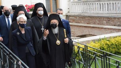 Photo of Official Visit of the US Deputy Secretary of State to the Ecumenical Patriarchate
