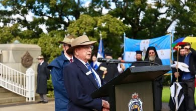 Photo of Memorial Service for the 80th Anniversary of the Battle of Crete and the 102nd Anniversary of the Pontian Genocide