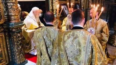Photo of Ecumenical Patriarch celebrated Sunday of Pentecost in the Phanar