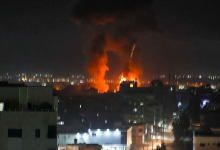 Photo of Israel launches air strikes on Gaza in the first major flare-up since ceasefire ended 11 days of fighting
