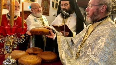 """Photo of Northcote: The feastday of the Archiepiscopal Monastery """"Axion Estin""""and the celebration of the Ecumenical Patriarch's name da"""