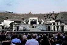 Photo of Huge 3D screens replace opera sets at Verona amphitheatre